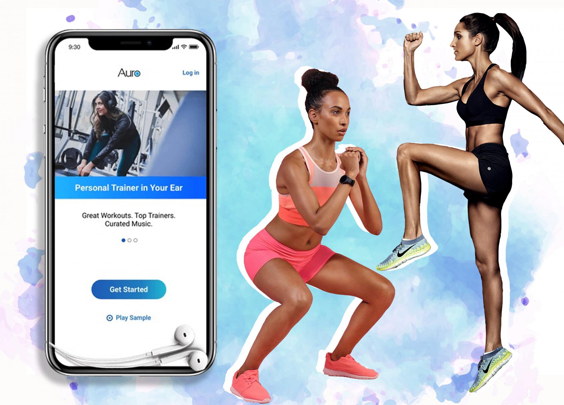 'Auro' Fitness App