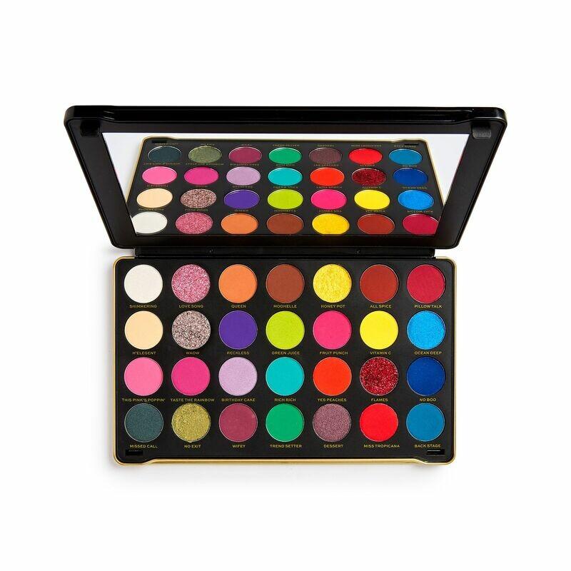 F.R.I.E.N.D.S x Makeup Revolution Monica eyeshadow palette